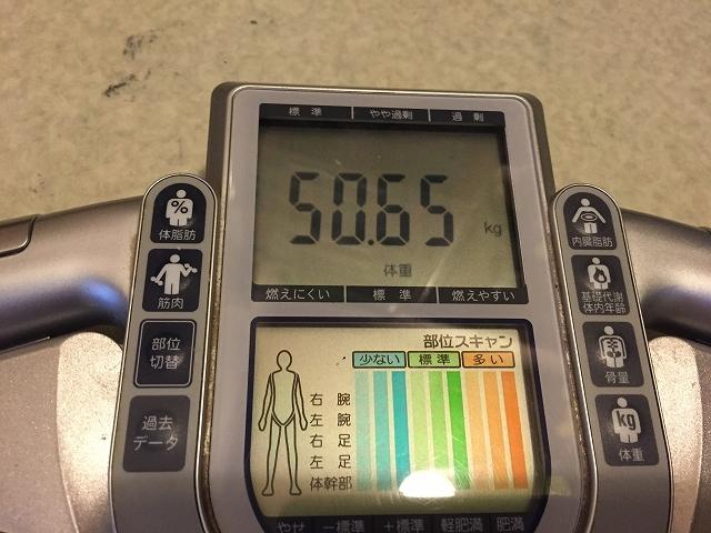 50.65 体重