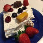 ケーキのトッピングに大活躍!