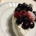 スーパーのケーキがゴージャスに(≧∇≦)